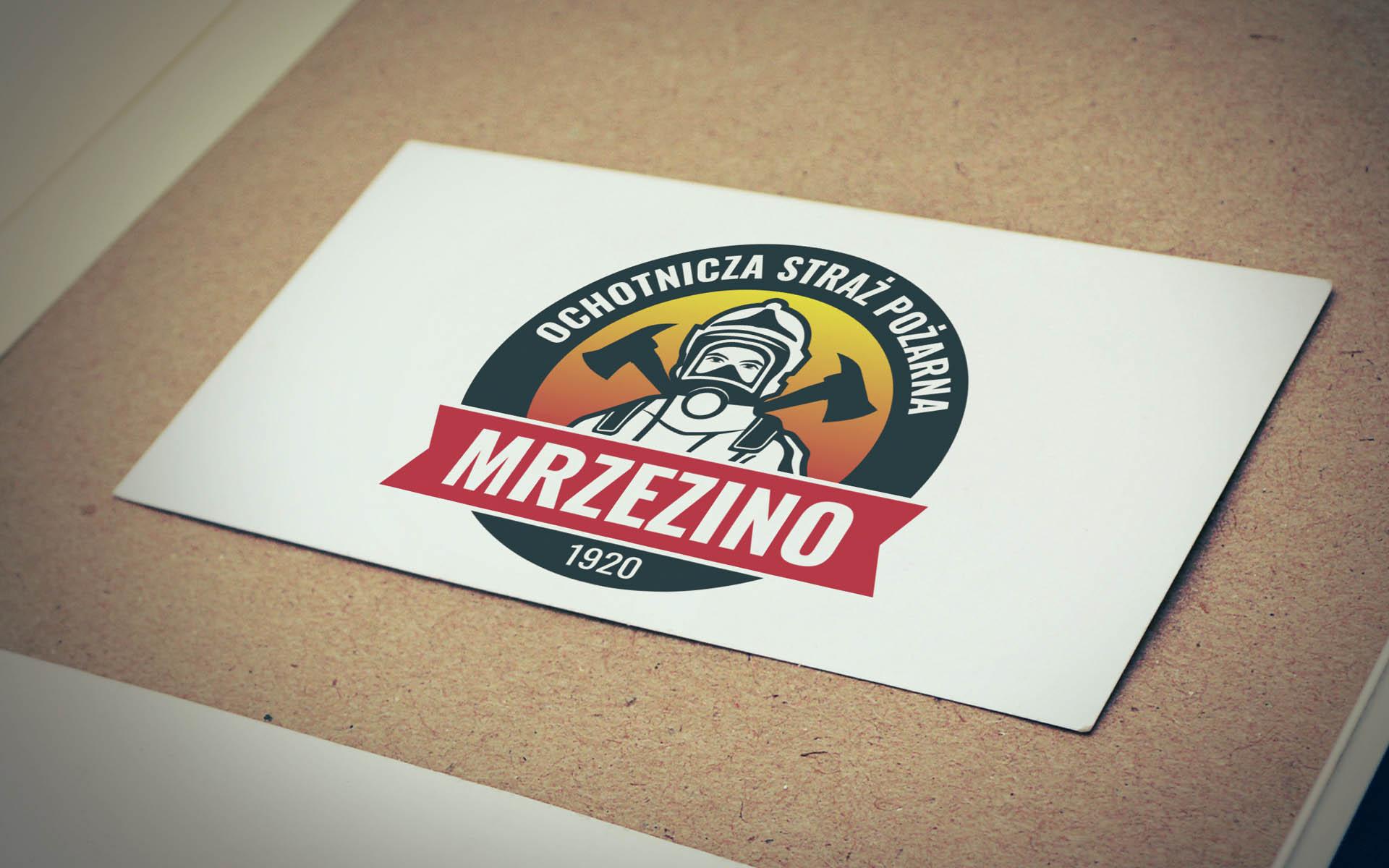 logo_OSP-MRZEZINO_v1-bw